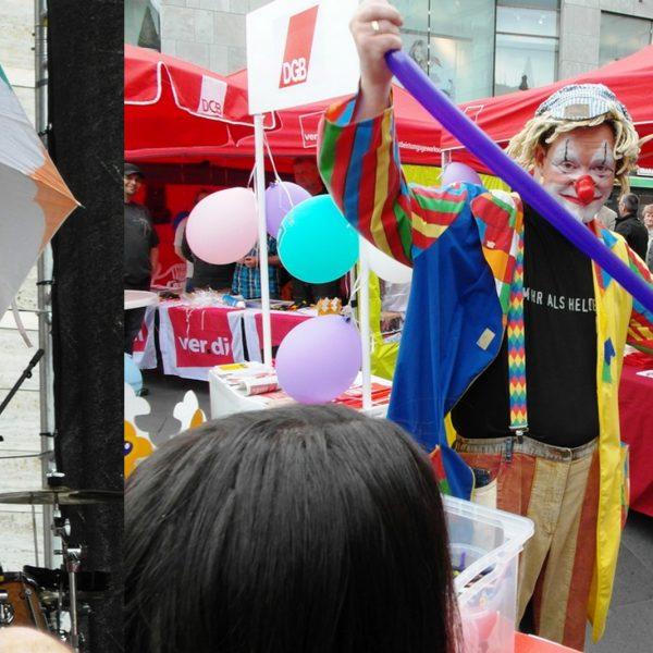 Clown Toni aus Halle