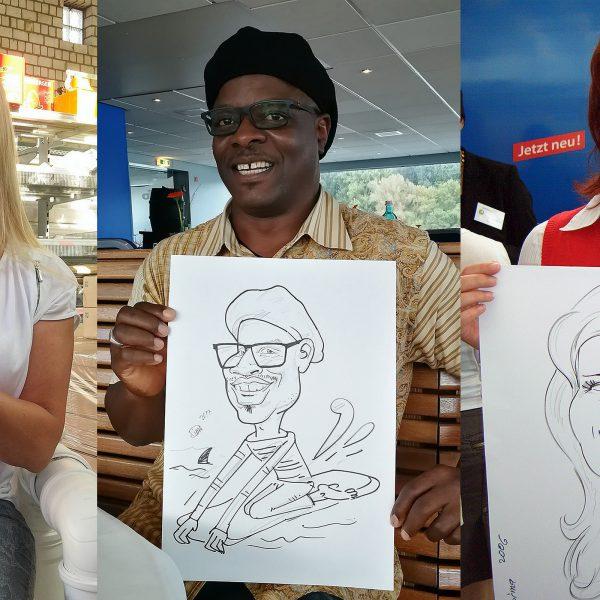 Schnellzeichner und Karikaturist aus NRW